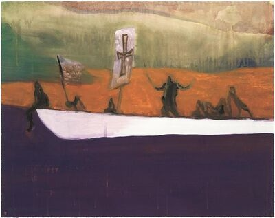 Peter Doig, 'Untitled (Canoe)', 2008