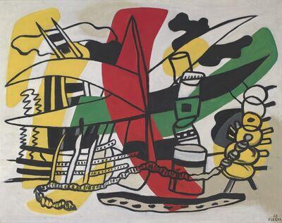 Fernand Léger, 'Trouville : Le Port', 1949