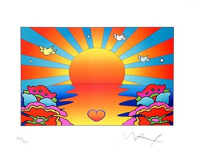 Peter Max, 'Protect Our Children Ver II', 2002