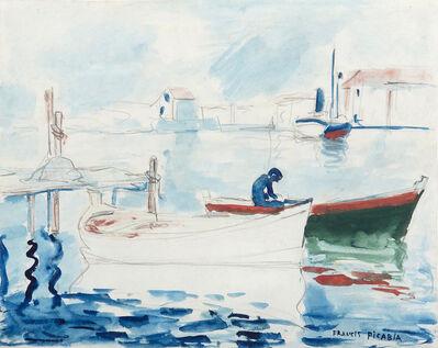 Francis Picabia, 'Le port de Saint Raphaël', 1922