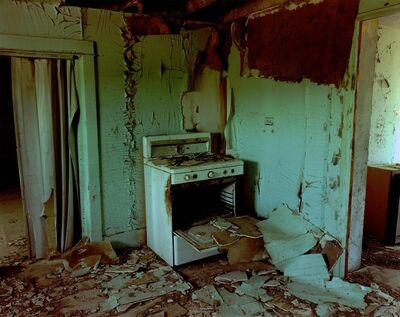 Steve Fitch, 'Kitchen In A House in St.Phillips, Eastern Montana, June 8', 2000