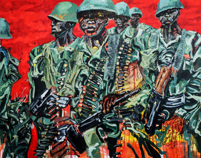 Ludovic Nkoth, 'The Fight For Ambazonia', 2019