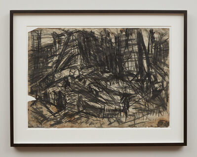 Leon Kossoff, 'Demolition of YMCA Building, No.2', 1970