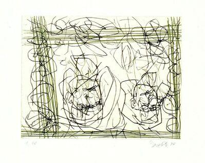 """Georg Baselitz, 'Rosa (from the portfolio """"Für die Pinakothek der Moderne"""")', 1993/94"""
