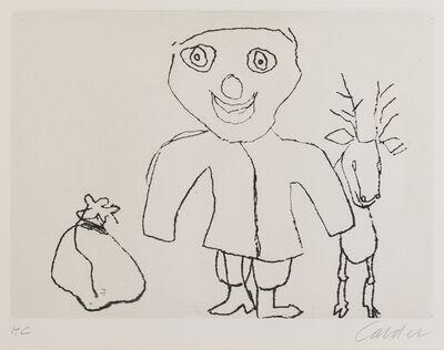Alexander Calder, 'Santa Claus', 1974