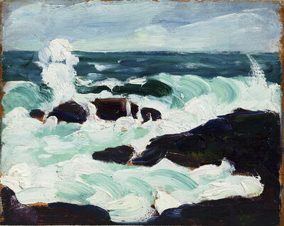 Leon Kroll, 'Monhegan, The Washerwoman ', 1913
