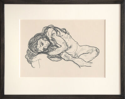 Egon Schiele, 'Madchen. (Girl.)', ca. 1918