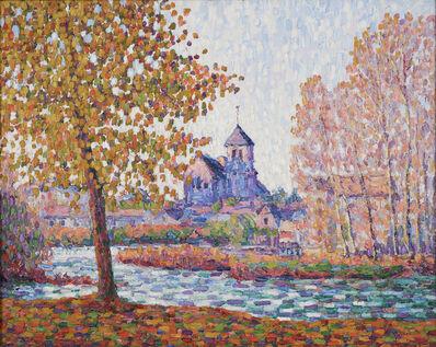 Francis Picabia, 'L'Eglise de Montigny, Effet D'Automne', 1908