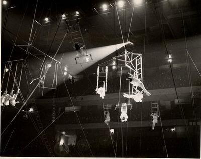 Ben Heller, 'Acrobats at the Barnum and Bailey Circus, Madison Square Garden', 1939