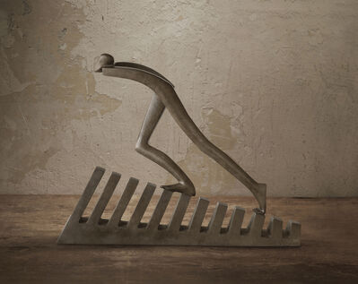 "Isabel Miramontes, '""My Way"" - Bronze, Emotion, Sensation, Balance, Creativity, Elegance', 2016"