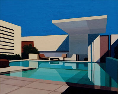 Andy Burgess, 'Pool in Shadow', 2016