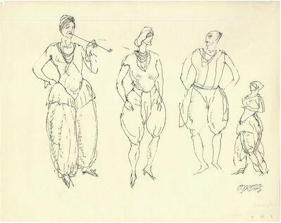 George Grosz, 'Harem', 1913
