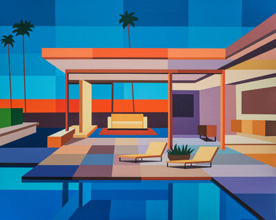 Andy Burgess, 'Modern House II', 2020