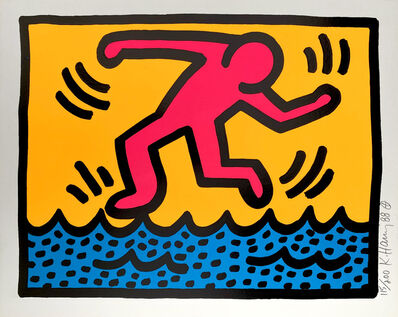 Keith Haring, 'Pop Shop II, C', 1988