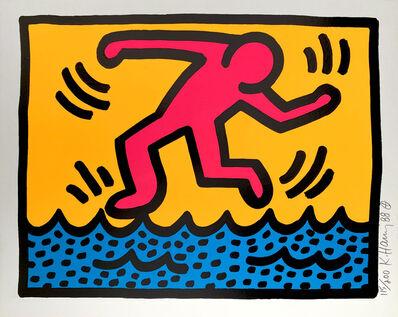 Keith Haring, 'Pop Shop II, C', 1988