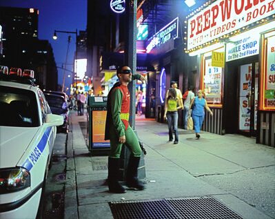 Dulce Pinzon, 'ERNESTO MENDEZ from Mexico City works as a gigolo in Times Square, New York. He sends 200 dollars a week.'