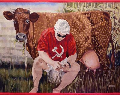 Oksana Levchenya, 'Carpet «Social Capitalism»', 2017