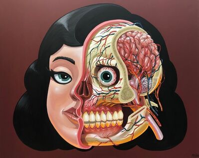 NYCHOS, 'Girl's Head Anatomy', 2018