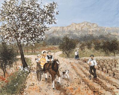 Fabienne Delacroix, 'Printemps sur le printemps de valensole', 2019