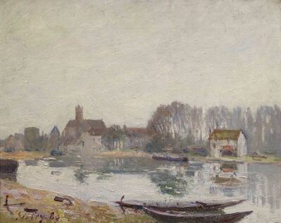 Alfred Sisley, 'Moret-sur-Loing', 1889