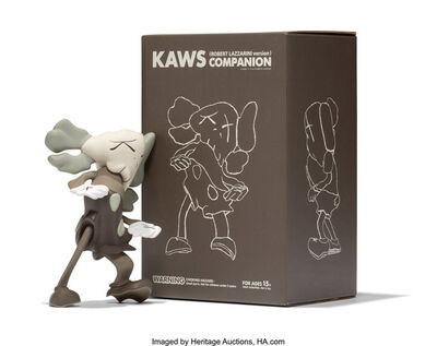 KAWS X Robert Lazzarini, 'Companion (Brown)', 2010