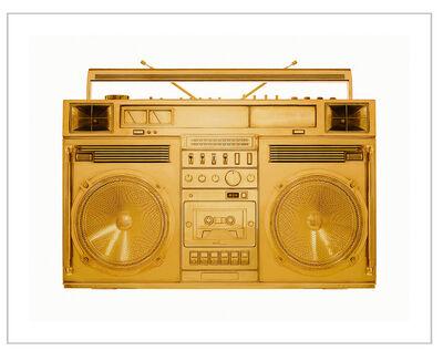 Lyle Owerko, 'Golden Boombox / Sculpture Series - image version.002', 2018