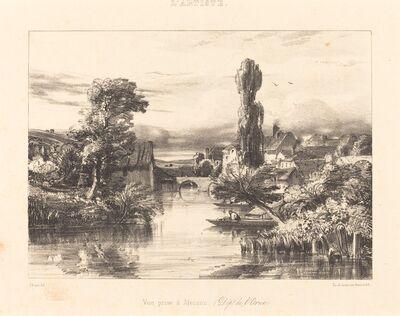 Jules Dupré, 'View at Alençon (Vue prise à Alençon)', 1839