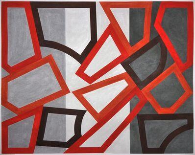 David Tremlett, 'Form and rhythm #10', 2014