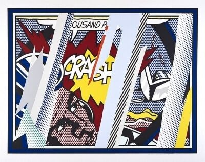 Roy Lichtenstein, 'Reflections on Crash (Corlett 239)', 1990