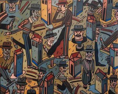 Antonio Seguí, 'Con Apuros', 1986