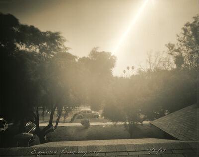 Mark Klett, 'Equinox from my roof, 3/21/07', 2007