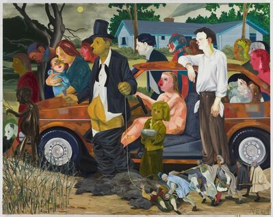 Nicole Eisenman, 'The Triumph of Poverty', 2009