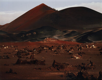 Simon Norfolk, 'English Bay Road looking towards Sisters Peak, Ascension Island', 2003