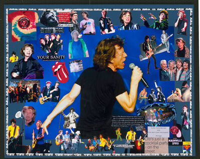 DJ Leon, 'Mick Jagger & the Rolling Stones', 2017