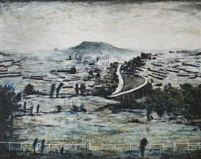 L.S. Lowry, 'Bargoed', 1964