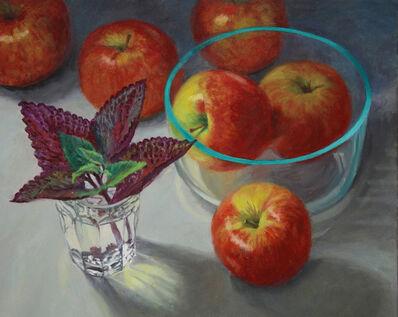 Douglas Newton, 'Apples and Glass', 2016