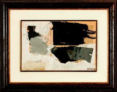 Afro (Afro Basaldella), 'Piccolo collage', 1963