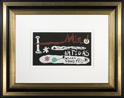 Joan Miró, 'Miro & Artigas, Sculpture in Ceramic Terres de Grand Feu', 1974