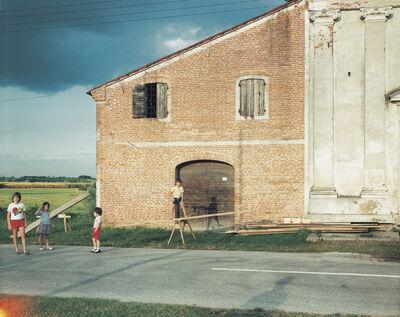 Guido Guidi (b. 1941), 'Piazzola sul Brenta, frazione di Presina, via Santa Colomba, Chiesa di Santa Colomba, 1985', 1985