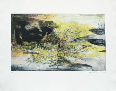 Zao Wou-Ki 趙無極, 'untitled', 1967