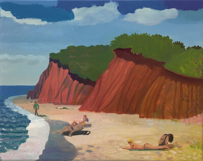 Daniel Heidkamp, 'The Beach', 2019