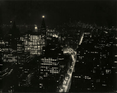 Todd Webb, 'From Empire State Building, New York', 1976