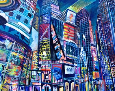 Thelma Appel, 'TIMES SQUARE IV', 2015