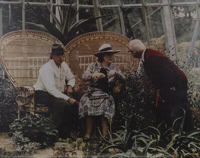 Joseph Beuys, 'Meeting Of Lady Roseberry, Joseph Beuys And Buckminster Fuller', 1975