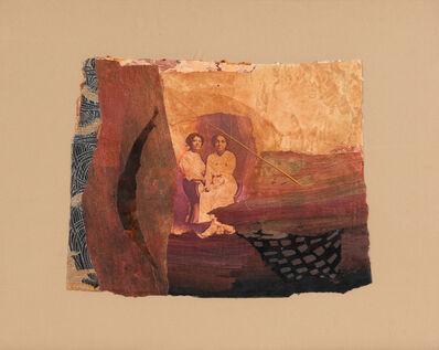 Betye Saar, 'Two Women with Leaf', 1991