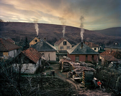 Joakim Eskildsen, 'Winter V The Roma settlement', 2000