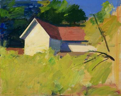 Kurt Solmssen, 'Red Roof at Minter', 2020