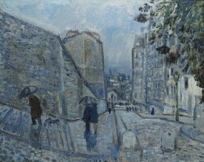 Bernard Lamotte, 'Pluie, Montmartre', 20th Century