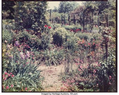Stephen Shore, 'Garden at Giverny', circa 1977-82