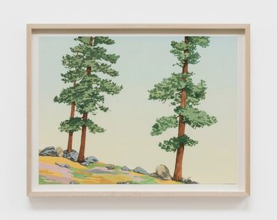 Jake Longstreth, 'Untitled (3 Pines)', 2020
